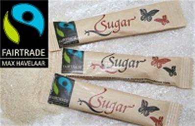 VC Fairtrade sucre de canne bio en sticks 1000x4gr BE-BIO-01