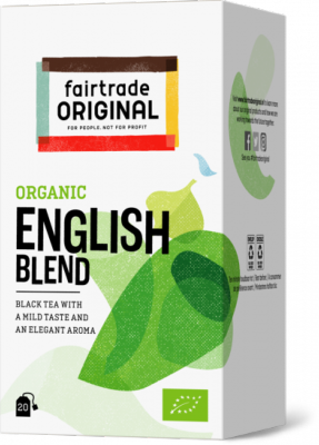 FTO thee Engelse mélange BIO Fairtrade 20x1,75 gr BE-BIO-01