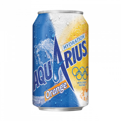 Aquarius Orange en canette 24 x 33 cl