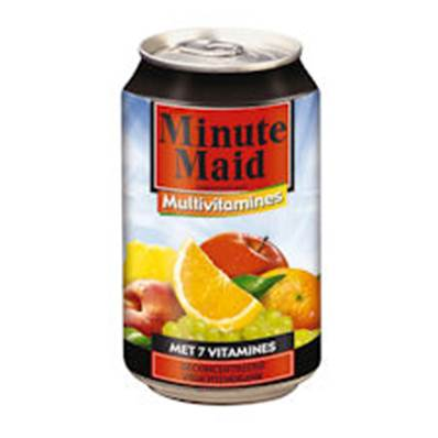 Minute Maid multi vitamines in blik 24 x 33 cl