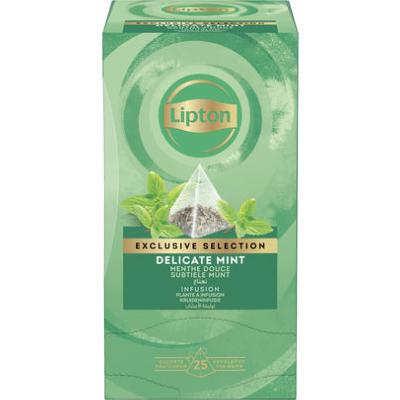 Lipton Exclusive Selection Subtiele Mint 25st