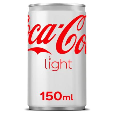 Coca-Cola Light en canette 24 x 15 cl