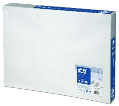 Tork White Placemat 500st (474553)