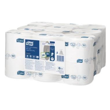 Tork Extra Soft Coreless Mid-Size Toilet Roll 18x1r (472139)