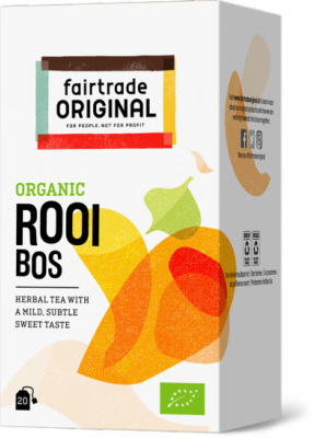 FTO thee rooibos BIO Fairtrade 20 x 1.75 gr BE-BIO-01