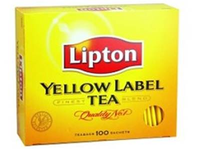Lipton yellow thee 100 st