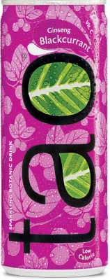 Tao Botanic Blackcurrant en cannettes 24x25cl