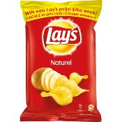Lays chips zout 250 gr