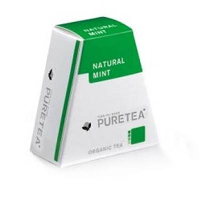 Pure tea natural mint 18 st BE-BIO-01