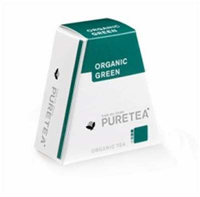 Pure tea organic green 18 st BE-BIO-01